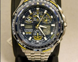 "Citizen Eco-Drive Sky Hawk ""Blue Angels"" Edition JY0040-59L Watch"