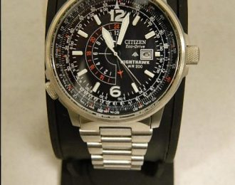 Citizen Eco-Drive Nighthawk BJ7000-52E Watch