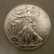 Uncirculated-2011-1oz-.999-Silver-American-Eagle
