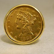 14k-Yellow-Gold-$5-1/4oz-22k-Gold-Coin-Cuff-Links-1