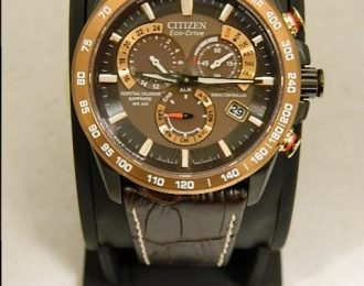 Citizen Eco-Drive Tachymeter Radio Controlled AT4006-06X Watch