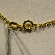 14k-Yellow-Gold-18″-0.81mm-Chain-Link-Necklace-2