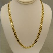 14k-Yellow-Gold-24″-5.00mm-Cuban-Link-Necklace