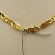 14k-Yellow-Gold-22″-4.45mm-Marine-Link-Necklace-2