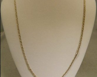 Sterling Silver 30″ 1.68mm Fancy Link Necklace