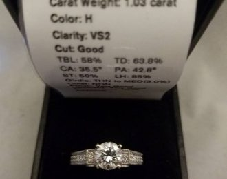 18k Romance 1.78ct Diamond Ring