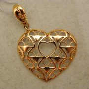 "14k-1-1/2""-Rose-Gold-LeVian-Heart-Pendant"
